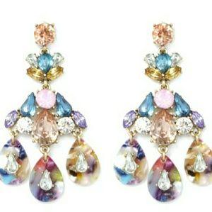 Crystal Torti New Designer style Dangle Earrings